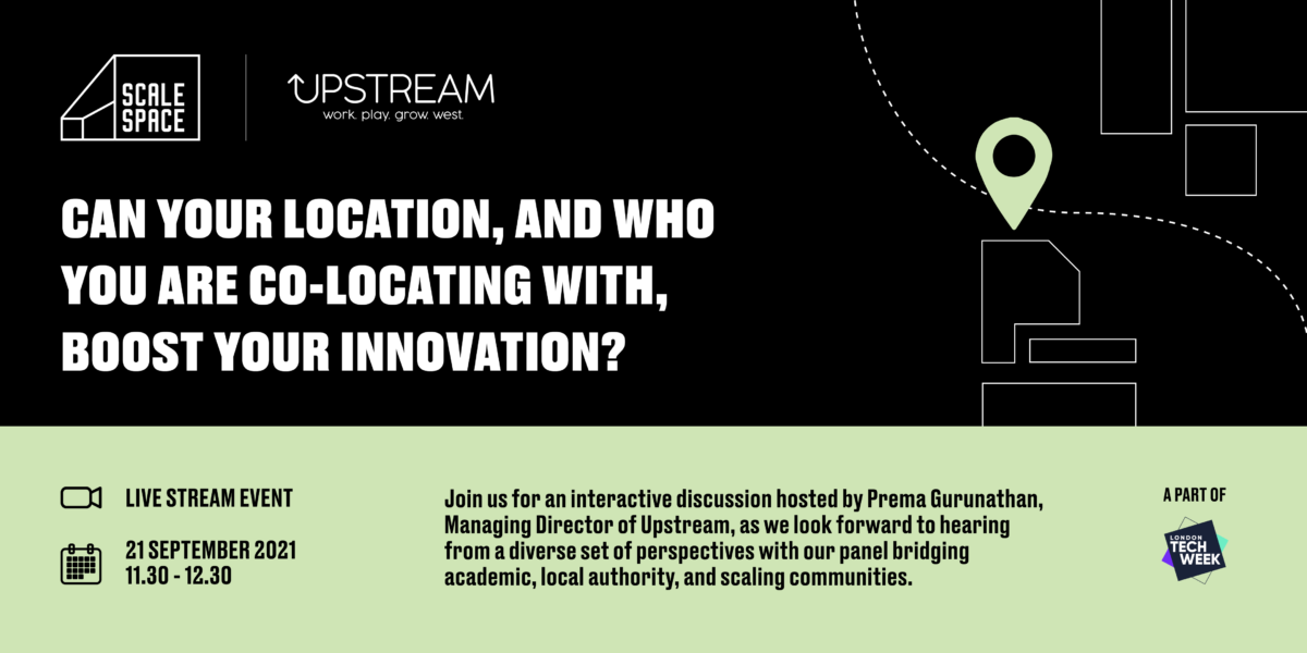 """Location, location and…co-location. Can """"where"""" and """"who with"""" you locate boost innovation?"""